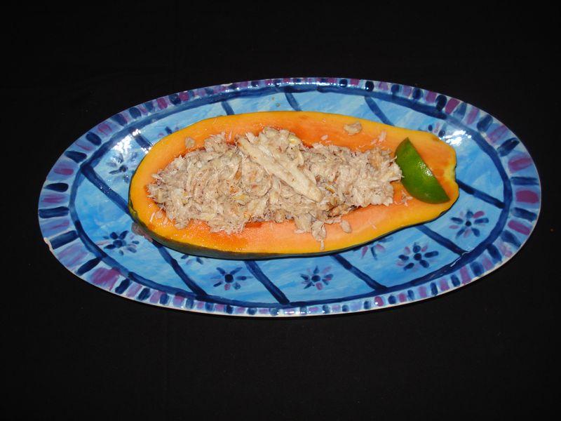 Papaya&crab