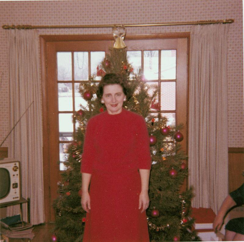 Charlotte christmas 1960